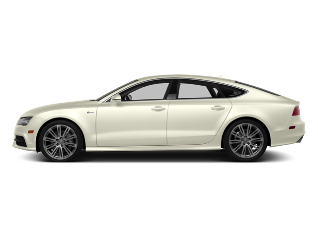 Glacier White Metallic 2014 Audi A7 Pictures A7 Sedan 4D TDI Prestige AWD T-Diesel photos side view