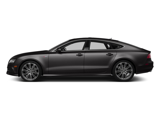 Oolong Gray Metallic 2014 Audi A7 Pictures A7 Sedan 4D 3.0T Prestige AWD photos side view
