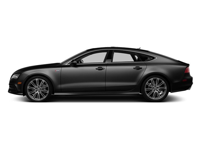 Brilliant Black 2014 Audi A7 Pictures A7 Sedan 4D 3.0T Prestige AWD photos side view