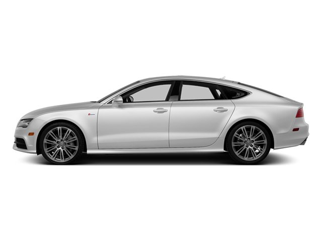 Ice Silver Metallic 2014 Audi A7 Pictures A7 Sedan 4D TDI Prestige AWD T-Diesel photos side view