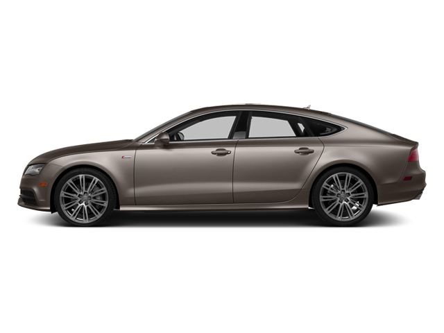 Dakota Gray Metallic 2014 Audi A7 Pictures A7 Sedan 4D 3.0T Prestige AWD photos side view
