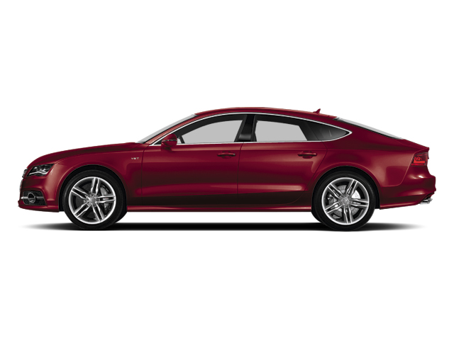 Garnet Red Pearl Effect 2014 Audi S7 Pictures S7 Sedan 4D S7 Prestige AWD V8 photos side view