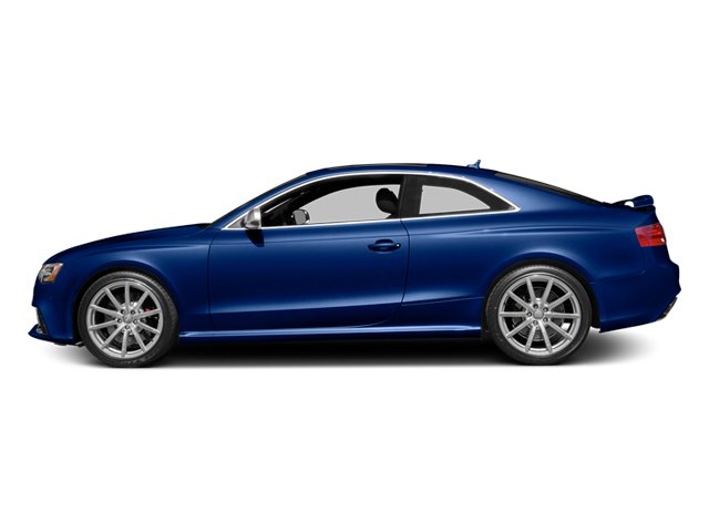 Sepang Blue Pearl Effect 2014 Audi RS 5 Pictures RS 5 Coupe 2D RS5 AWD V8 photos side view