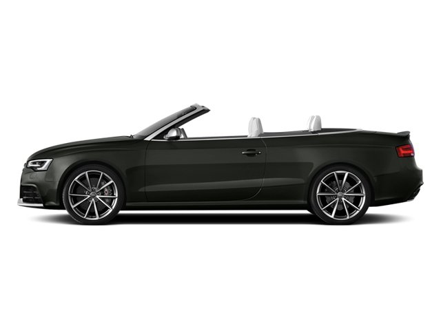 Daytona Gray Pearl Effect/Black Roof 2014 Audi RS 5 Pictures RS 5 Convertible 2D RS5 AWD V8 photos side view