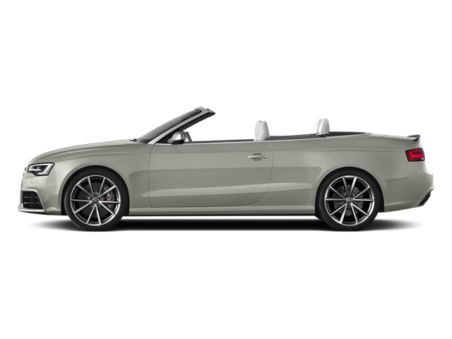 Prism Silver Crystal Effect/Black Roof 2014 Audi RS 5 Pictures RS 5 Convertible 2D RS5 AWD V8 photos side view