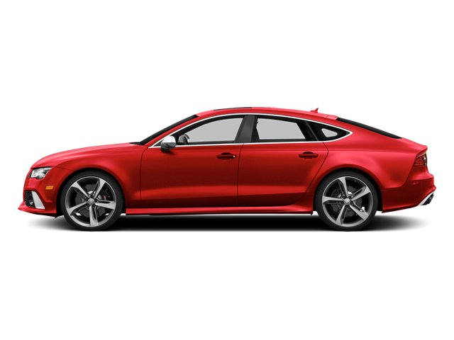 Misano Red Pearl Effect 2014 Audi RS 7 Pictures RS 7 Sedan 4D Prestige AWD photos side view