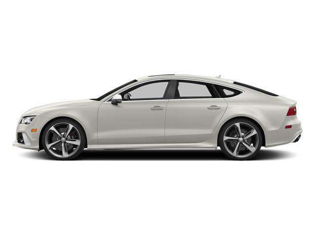 Ibis White 2014 Audi RS 7 Pictures RS 7 Sedan 4D Prestige AWD photos side view