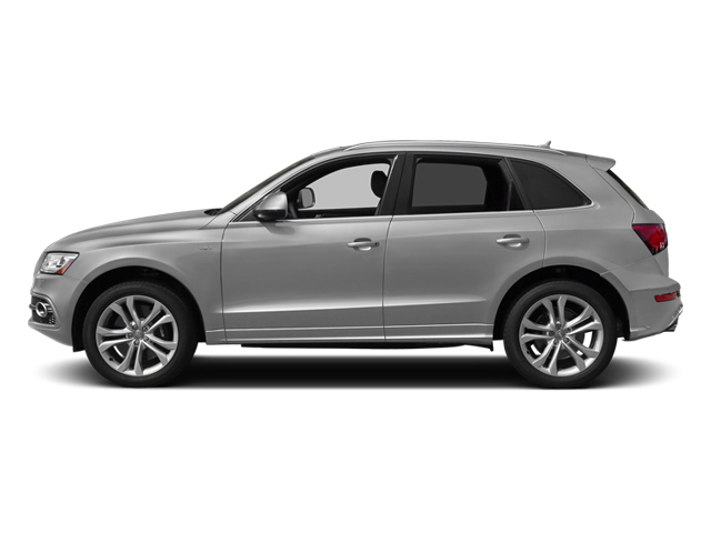 Ice Silver Metallic 2014 Audi SQ5 Pictures SQ5 Utility 4D Premium Plus AWD V6 photos side view