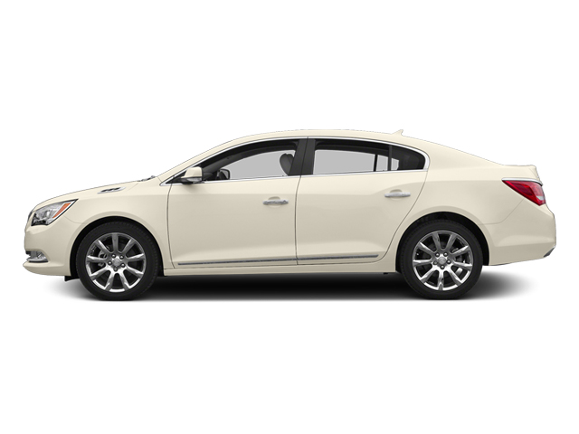 White Diamond Tricoat 2014 Buick LaCrosse Pictures LaCrosse Sedan 4D Leather V6 photos side view