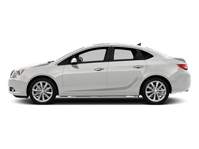 Summit White 2014 Buick Verano Pictures Verano Sedan 4D Leather I4 photos side view