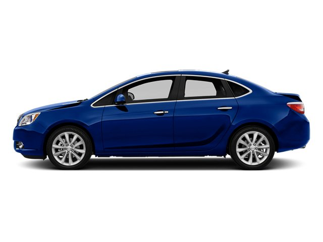 Luxo Blue Metallic 2014 Buick Verano Pictures Verano Sedan 4D Leather I4 photos side view