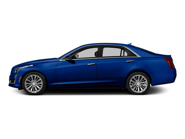 Opulent Blue Metallic 2014 Cadillac CTS Sedan Pictures CTS Sedan 4D Performance V6 photos side view