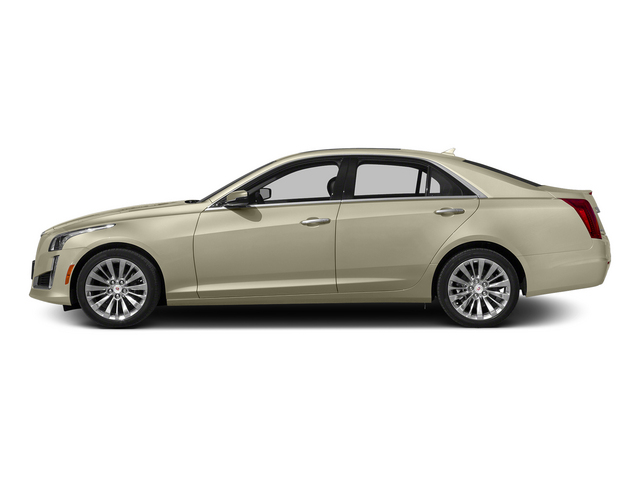 Silver Coast Metallic 2014 Cadillac CTS Sedan Pictures CTS Sedan 4D Performance V6 photos side view