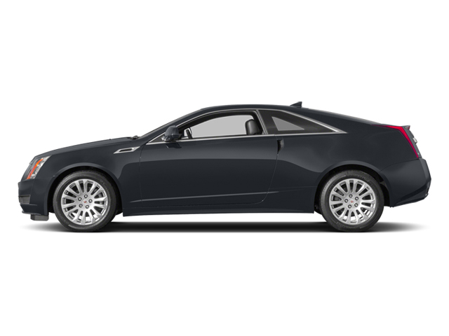 Phantom Gray Metallic 2014 Cadillac CTS Coupe Pictures CTS Coupe 2D Premium AWD V6 photos side view