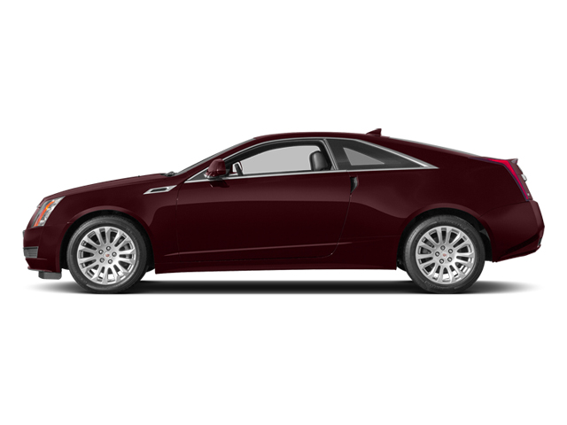 Crimson Red Metallic 2014 Cadillac CTS Coupe Pictures CTS Coupe 2D Premium AWD V6 photos side view