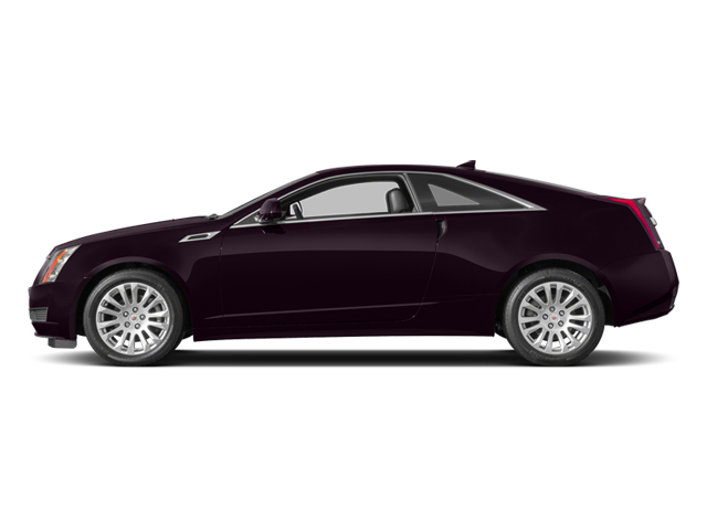 Majestic Plum Metallic 2014 Cadillac CTS Coupe Pictures CTS Coupe 2D Premium AWD V6 photos side view