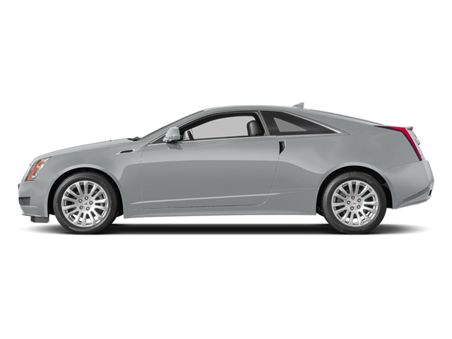 Radiant Silver Metallic 2014 Cadillac CTS Coupe Pictures CTS Coupe 2D Premium AWD V6 photos side view