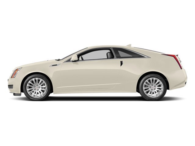 White Diamond Tricoat 2014 Cadillac CTS Coupe Pictures CTS Coupe 2D Premium AWD V6 photos side view