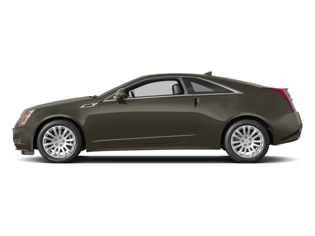 Mocha Steel Metallic 2014 Cadillac CTS Coupe Pictures CTS Coupe 2D Premium AWD V6 photos side view