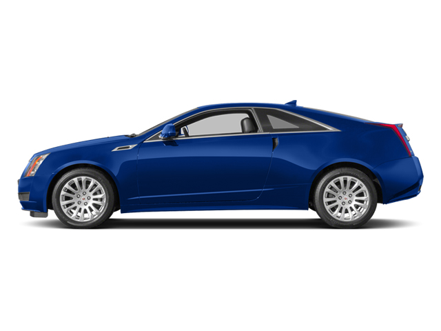Opulent Blue Metallic 2014 Cadillac CTS Coupe Pictures CTS Coupe 2D Premium AWD V6 photos side view