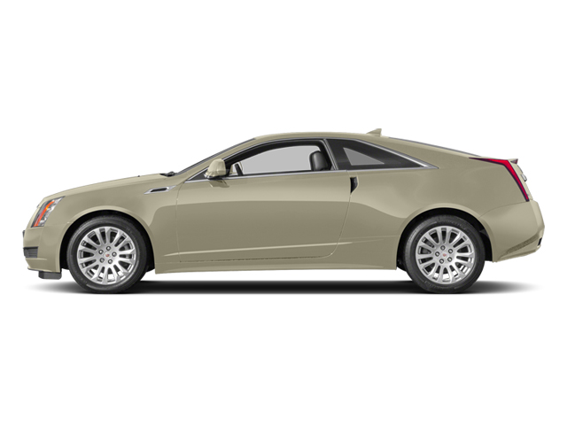 Silver Coast Metallic 2014 Cadillac CTS Coupe Pictures CTS Coupe 2D Premium AWD V6 photos side view