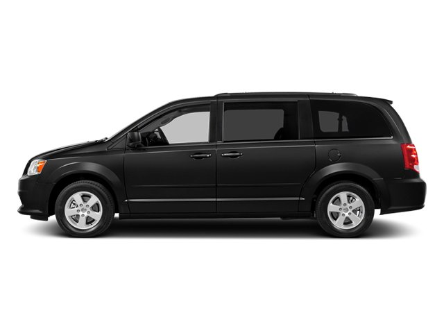 Brilliant Black Crystal Pearlcoat 2014 Dodge Grand Caravan Pictures Grand Caravan Grand Caravan SXT V6 photos side view