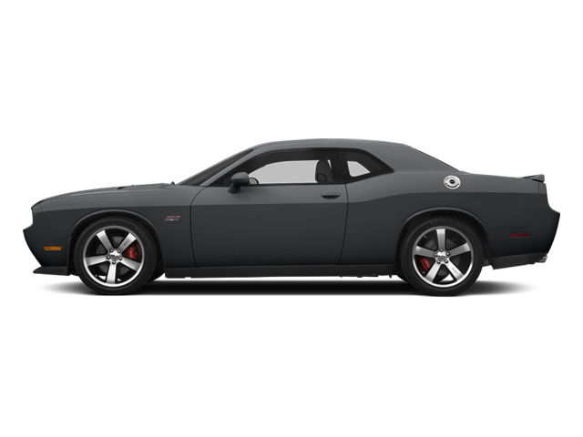 Granite Crystal Metallic Clearcoat 2014 Dodge Challenger Pictures Challenger Coupe 2D SRT-8 V8 photos side view
