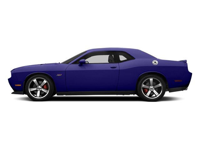 Plum Crazy Pearlcoat 2014 Dodge Challenger Pictures Challenger Coupe 2D SRT-8 V8 photos side view