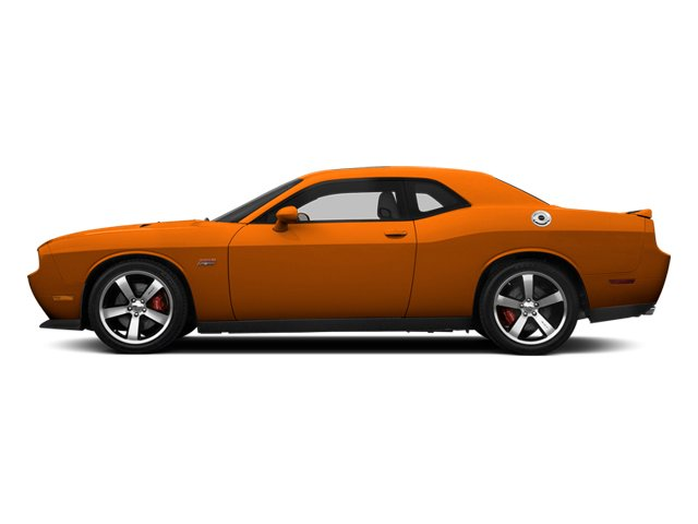 Header Orange Clearcoat 2014 Dodge Challenger Pictures Challenger Coupe 2D SRT-8 V8 photos side view