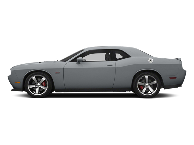 Billet Silver Metallic Clearcoat 2014 Dodge Challenger Pictures Challenger Coupe 2D SRT-8 V8 photos side view