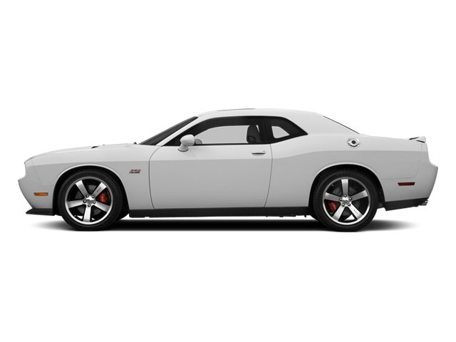 Bright White Clearcoat 2014 Dodge Challenger Pictures Challenger Coupe 2D SRT-8 V8 photos side view