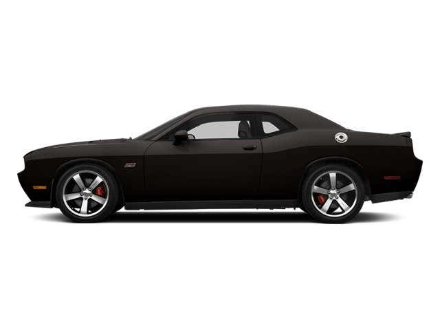 Black Clearcoat 2014 Dodge Challenger Pictures Challenger Coupe 2D SRT-8 V8 photos side view
