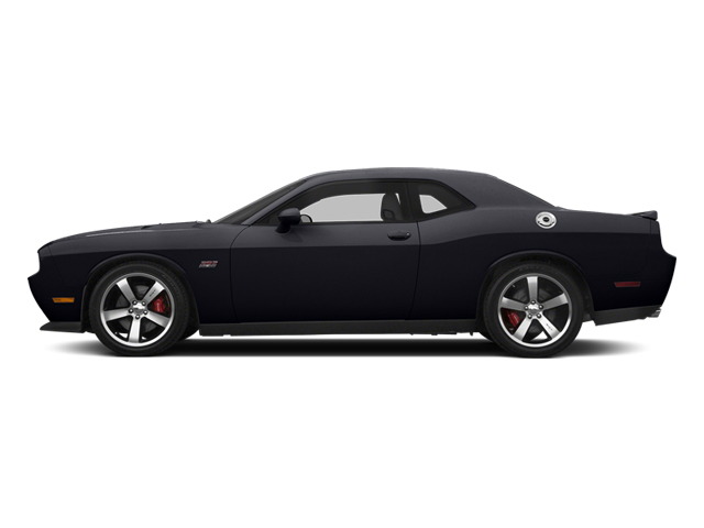 Phantom Black Tri-Coat Pearl 2014 Dodge Challenger Pictures Challenger Coupe 2D SRT-8 V8 photos side view