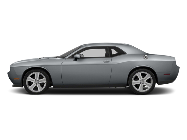 Billet Silver Metallic Clearcoat 2014 Dodge Challenger Pictures Challenger Coupe 2D R/T V8 photos side view