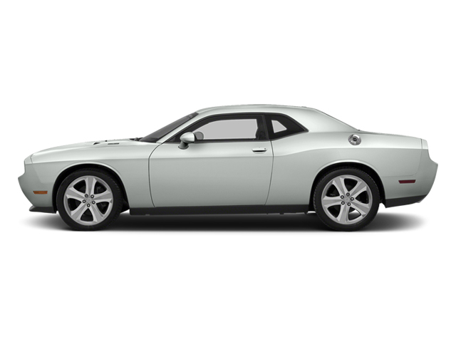Bright White Clearcoat 2014 Dodge Challenger Pictures Challenger Coupe 2D R/T V8 photos side view