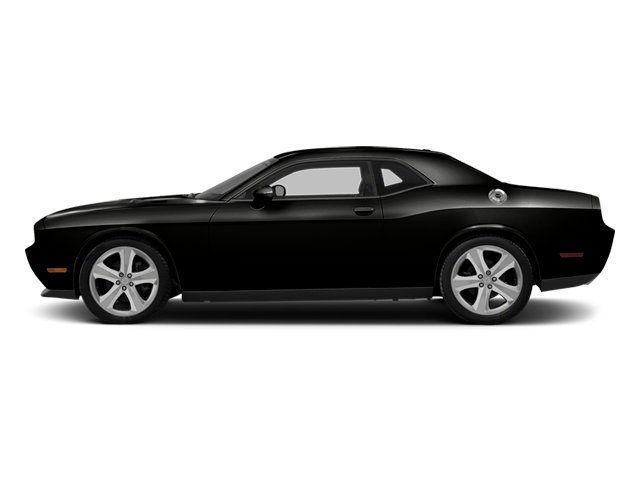 Black Clearcoat 2014 Dodge Challenger Pictures Challenger Coupe 2D R/T V8 photos side view