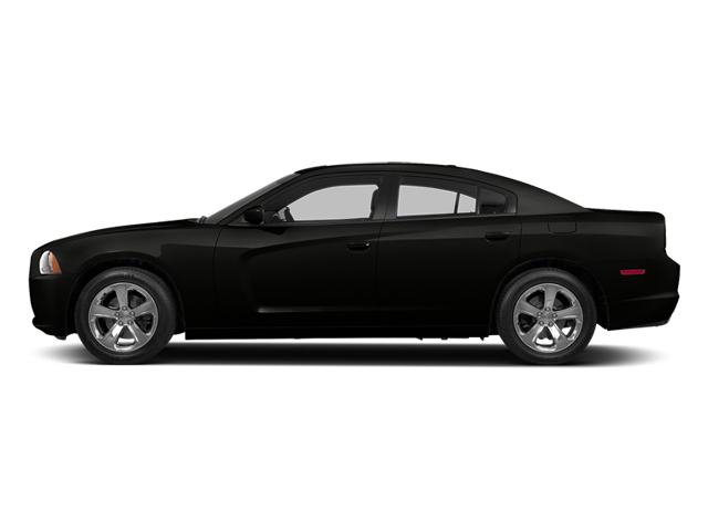 Pitch Black 2014 Dodge Charger Pictures Charger Sedan 4D R/T V8 photos side view