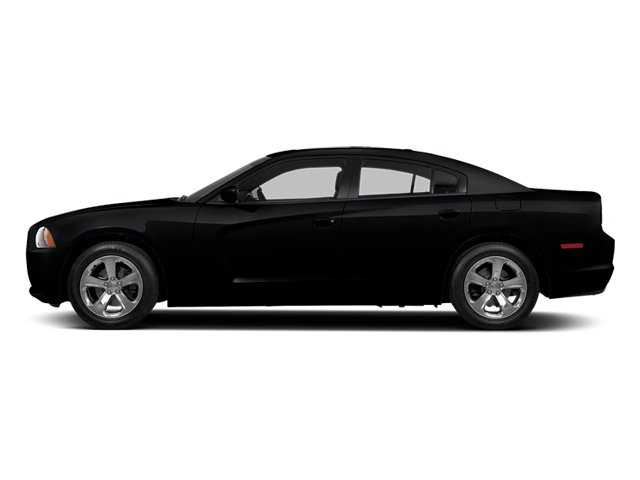 Phantom Black Tri-Coat Pearl 2014 Dodge Charger Pictures Charger Sedan 4D R/T V8 photos side view