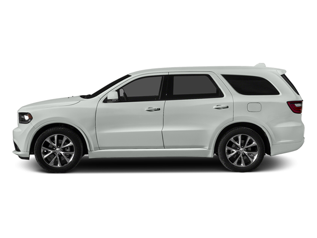 Bright White Clearcoat 2014 Dodge Durango Pictures Durango Utility 4D R/T AWD V8 photos side view