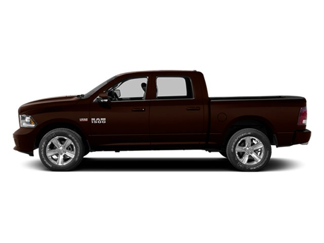 Western Brown 2014 Ram Truck 1500 Pictures 1500 Crew Cab Tradesman 2WD photos side view