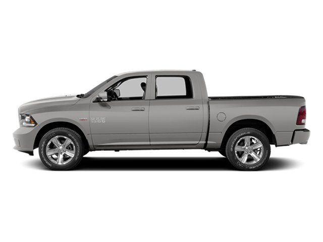 Bright Silver Metallic Clearcoat 2014 Ram Truck 1500 Pictures 1500 Crew Cab Tradesman 2WD photos side view