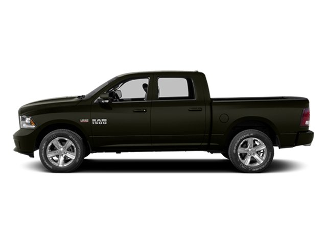 Black Gold Pearlcoat 2014 Ram Truck 1500 Pictures 1500 Crew Cab Tradesman 2WD photos side view
