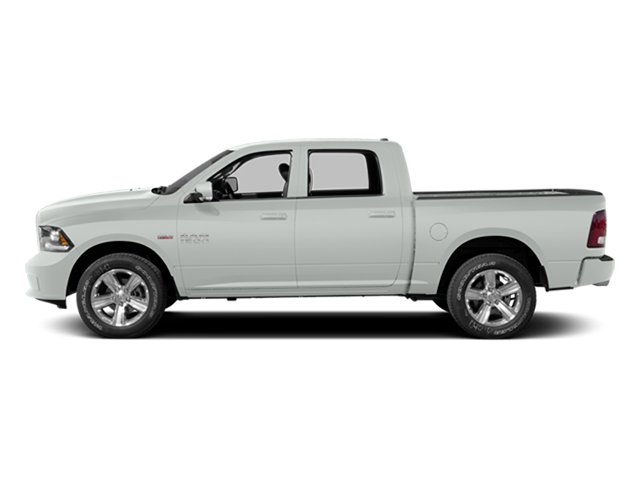 Bright White Clearcoat 2014 Ram Truck 1500 Pictures 1500 Crew Cab Tradesman 2WD photos side view