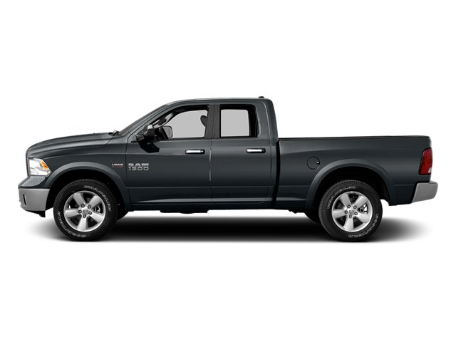 Maximum Steel Metallic Clearcoat 2014 Ram Truck 1500 Pictures 1500 Quad Cab Outdoorsman 4WD photos side view