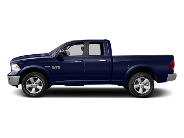 True Blue Pearlcoat 2014 Ram Truck 1500 Pictures 1500 Quad Cab Express 4WD photos side view