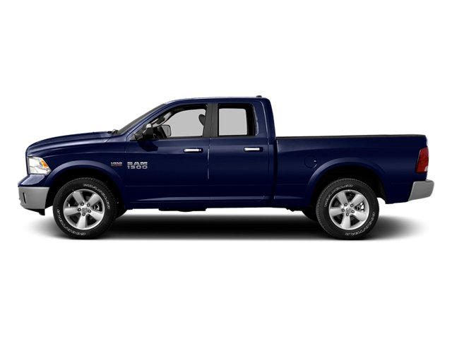 True Blue Pearlcoat 2014 Ram Truck 1500 Pictures 1500 Quad Cab Outdoorsman 4WD photos side view