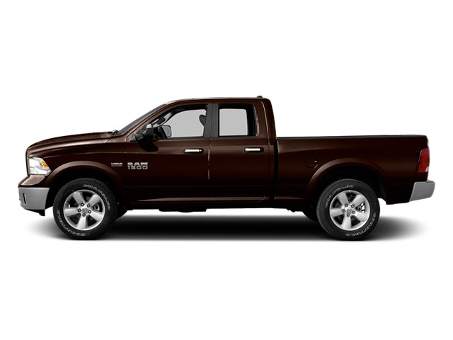 Western Brown 2014 Ram Truck 1500 Pictures 1500 Quad Cab Express 4WD photos side view