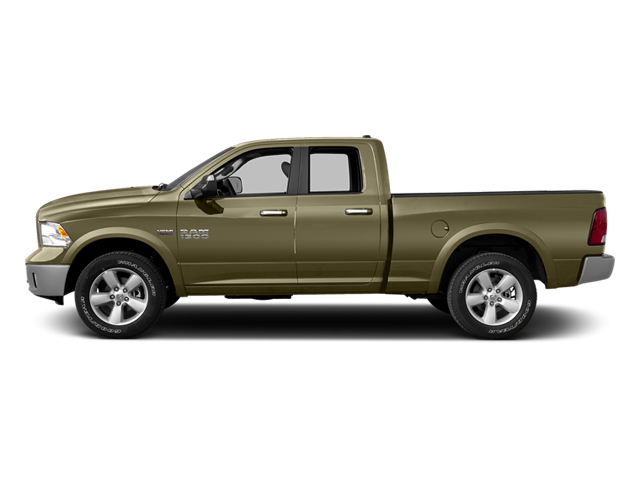 Prairie Pearlcoat 2014 Ram Truck 1500 Pictures 1500 Quad Cab Express 4WD photos side view