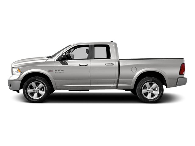 Bright Silver Metallic Clearcoat 2014 Ram Truck 1500 Pictures 1500 Quad Cab Express 4WD photos side view
