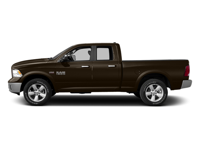 Black Gold Pearlcoat 2014 Ram Truck 1500 Pictures 1500 Quad Cab Express 4WD photos side view